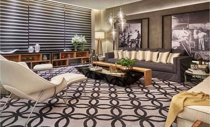 Sala De Estar Ambientes Decorados ~  de ambientes decorados líder 2015 , projeto de arquitetura , Sala de