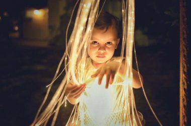 fibra ótica iluminação segura